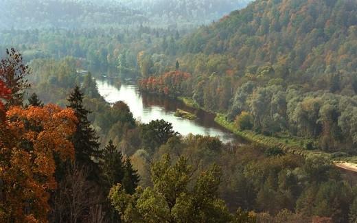 На фото изображен Национальный парк Гауя