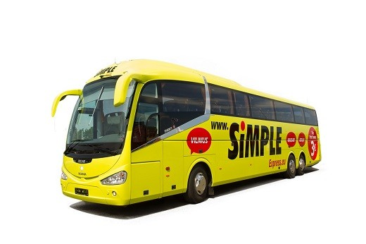 Автобус Санкт-Петербург - Рига на фото