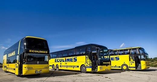 На фото автобусы Ecolines