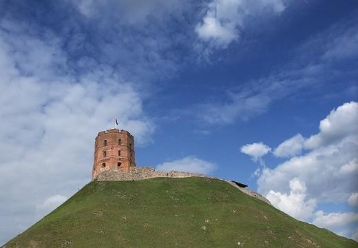 На снимке башня Гедимина