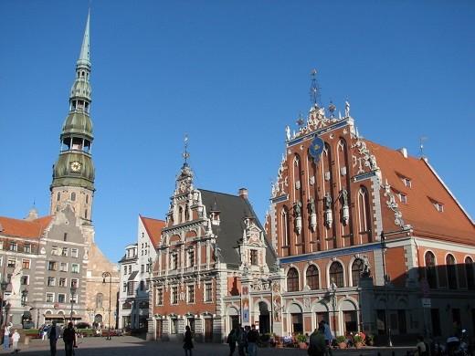 На снимке изображена церковь Святого Петра