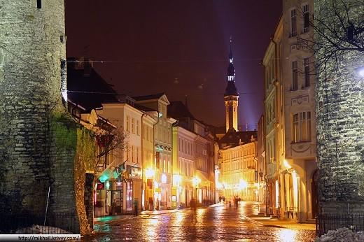 Старый Таллин на фото