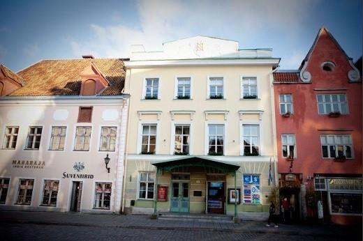 Таллинский Дом учителя на снимке