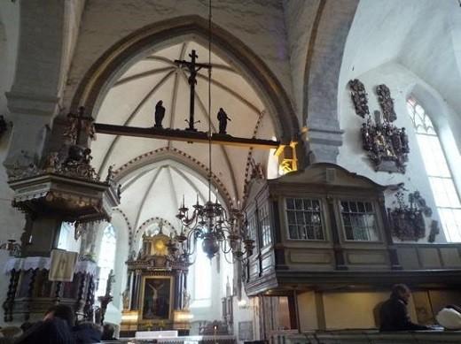 Внутренне убранство Домского собора в Таллине