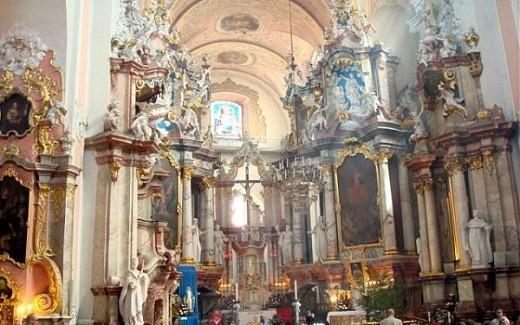 Доминиканский костел Святого духа на фото