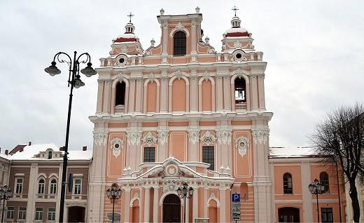 На снимке Костел святого Каземира