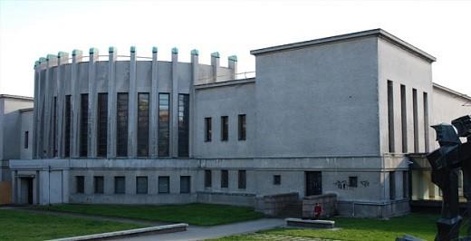 На фото представлен Национальный Художественный Музей М.К. Чюрлениса
