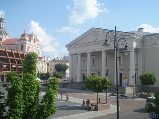 На снимке литовский музей Искусств