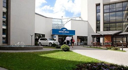 На фото изображен отель AirInn Vilnius Hotel