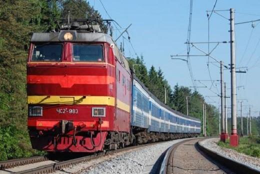 На фото поезд Москва-Таллин
