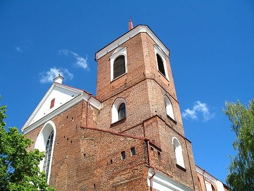 Кафедральный собор святых Павла и Петра изображен на фото