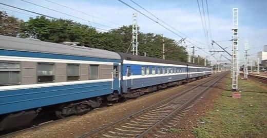 На снимке поезд Таллин-Москва 033X