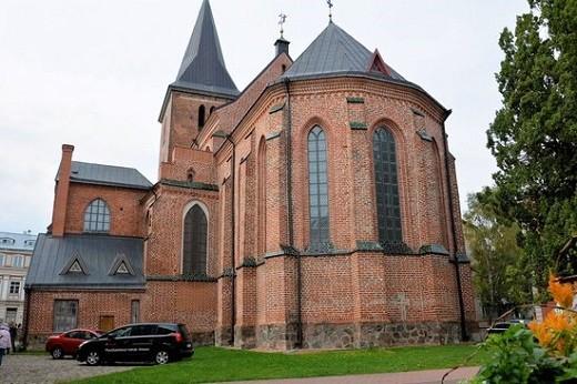 Историческое здание Яановской церкви является архитектурным памятником Западной Европы