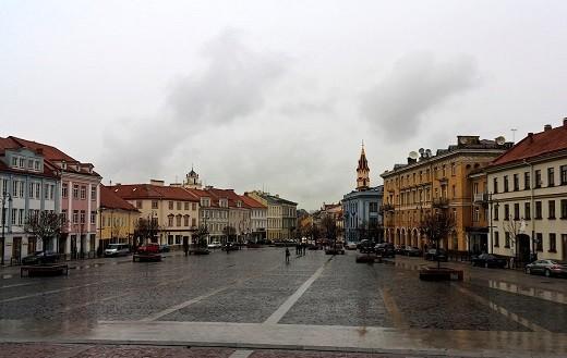 Вильнюс осенью на снимке