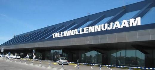 На фото аэропорт Таллина