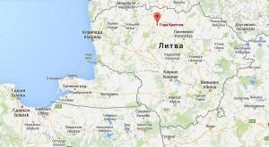 Местоположение Горы Крестов на карте