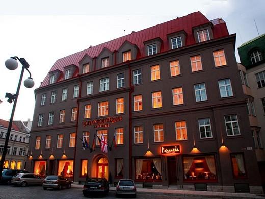 Гостиница Савой, расположенная рядом с аэропортом в Таллине