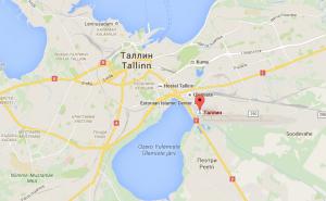 На карте Таллина видно расположение аэропорта