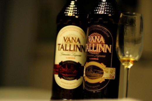 Ликер Ванна Таллин является визитной карточкой Эстонии