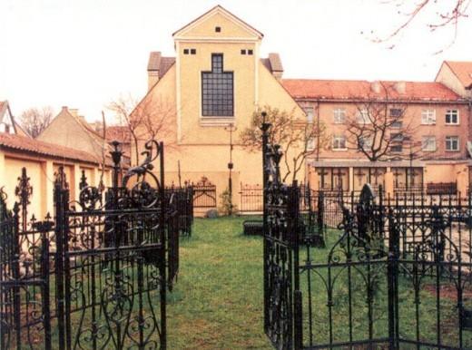 На фото музей истории Малой Литвы