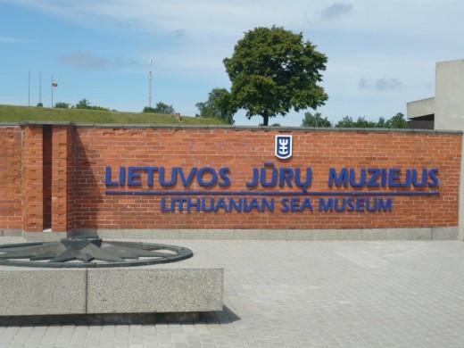 Литовский морской музей на фотографии