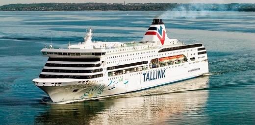 Паром Таллин-Стокгольм на фото