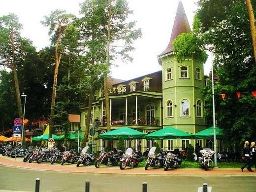 Спа-отель «Pegasa Pils» на фото