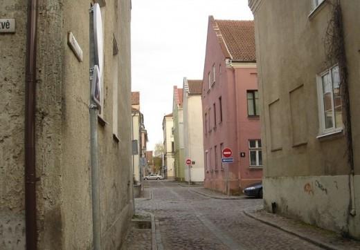 Так выглядит старый город в Клайпеде