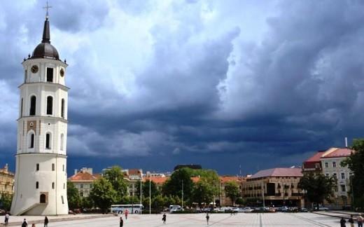 Климат в Вильнюсе умеренный и достаточно комфортный