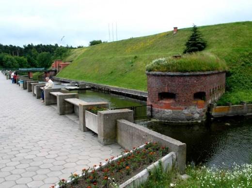 Клайпедский замок Мемель на фотографии
