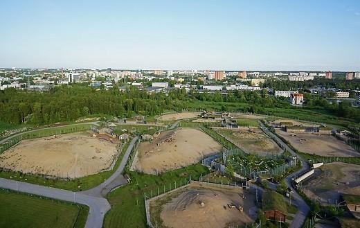 На снимке вид на зоопарк с высоты птичьего полета