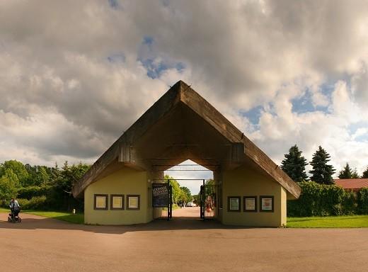 На фото изображен зоопарк в Таллине