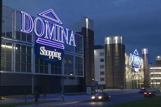 Развлекательный центр Domina в Риге на фото