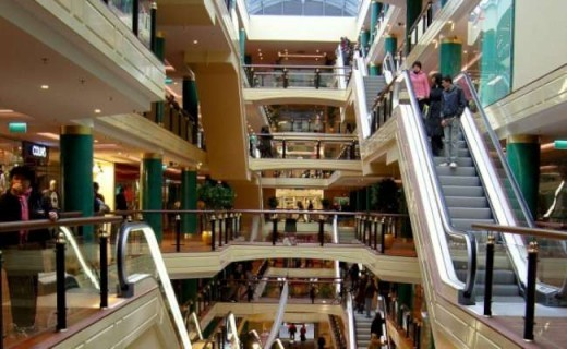 Торговый центр SPICE на снимке