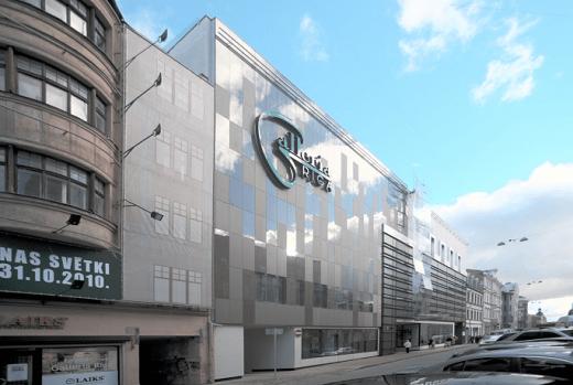Galleria Riga представлена на фотографии