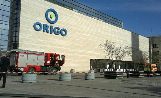 Рижский торговый центр Origo на снимке