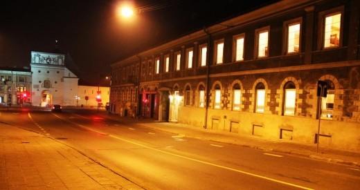 На фото показан хостел в Вильнюсе