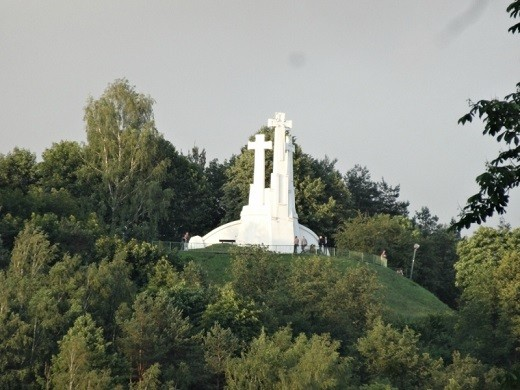 На снимке Лысая гора в Вильнюсе