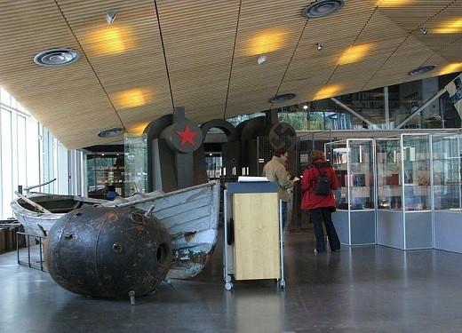 Музей оккупации в Таллине на фотографии