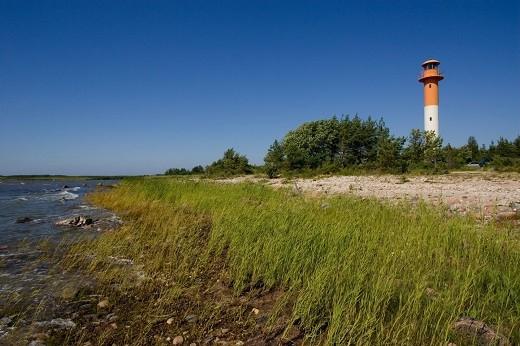 Остров Хийумаа Эстония изображен на фото