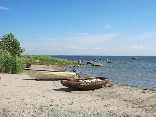 Остров Прангли на фотографии