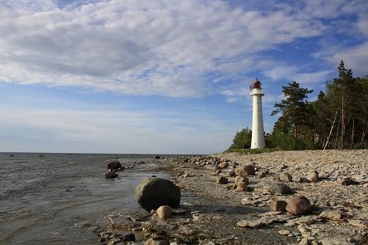 Эстонский остров Вормси на снимке
