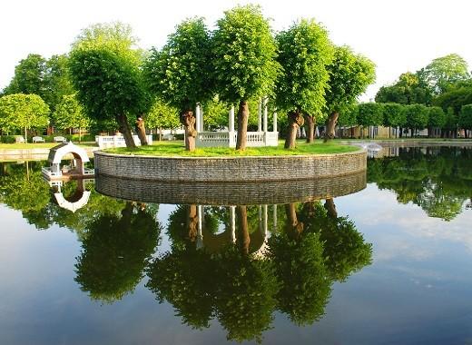 Таллинский Парк Кардиорг на снимке