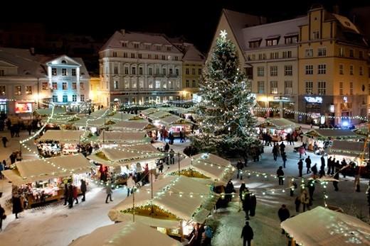 Рождественский Таллин на снимке