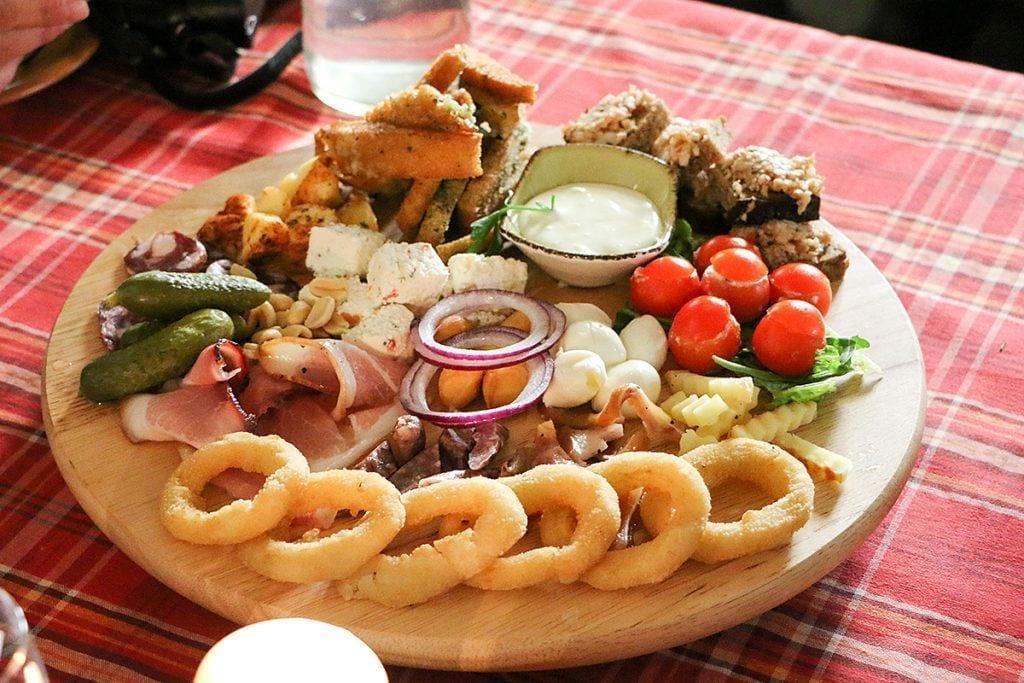 Закуски литовской кухни